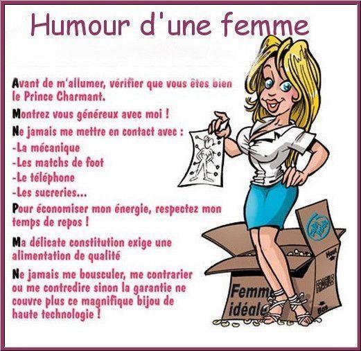 blague x femme